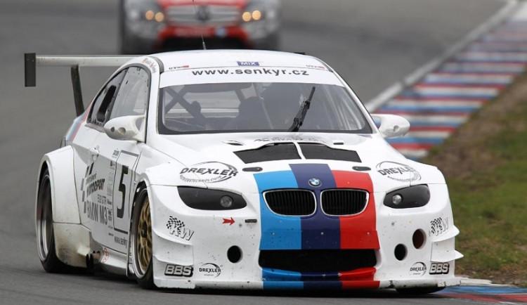 První ostrý test nového BMW M3 E92 GTR