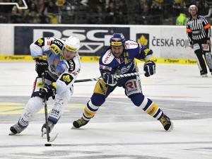 Hokejisté Komety v dramatickém duelu podlehli Zlínu
