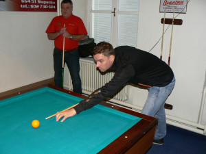 Turnaje v kulečníku se zúčastnil i Ivo Viktor či Petr Švancara