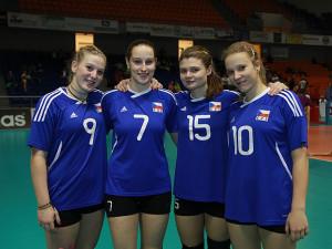 V národním dresu bojují i volejbalové talenty z Brna