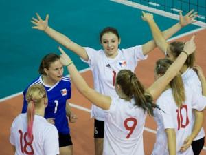 Kadetky národního týmu slaví postup na mistrovství Evropy