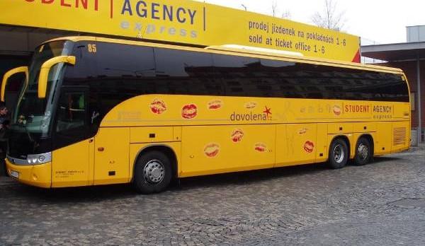 Student Agency znovu zavede autobusy mezi Brnem a Zlínem