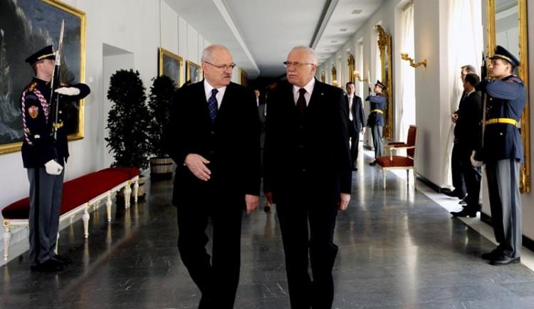Prezidenti si v Brně předali nejvyšší státní vyznamenání