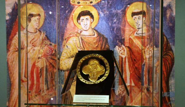 Cyrila a Metoděje připomíná výstava v Paláci šlechtičen