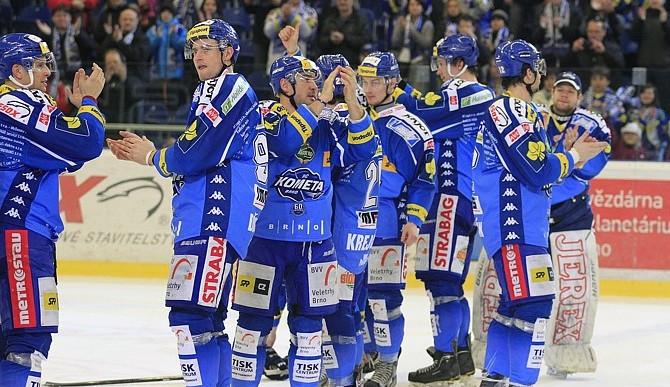 Hokejisté Komety se zítra rozloučí se sezonou