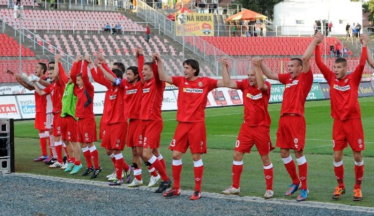 Brněnští fotbalisté slaví první jarní vítězství