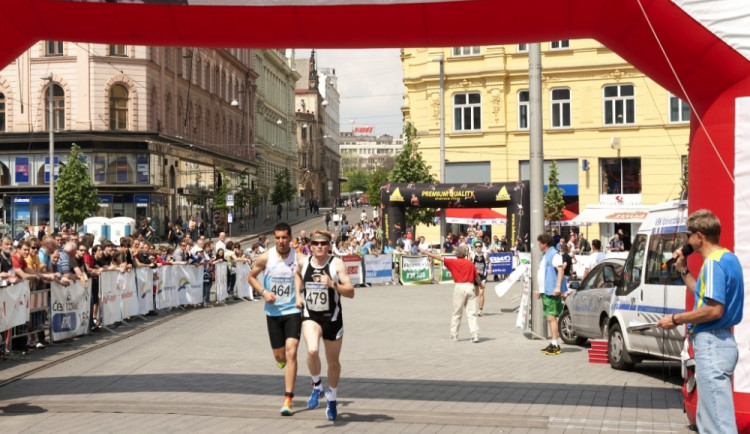 V Brně se v sobotu konal obnovený půlmaraton