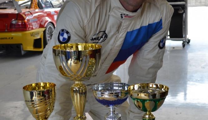 Robert Šenkýř vítězem třídy do 3500ccm