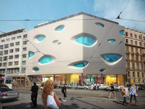 Obchodní centrum Letmo přivítalo první návštěvníky