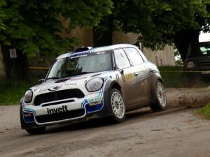 Kopecký vyhrál potřetí za sebou Rallye Hustopeče