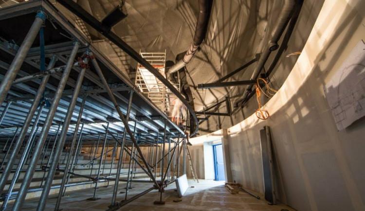 V brněnském planetáriu začali s budováním nové projekční plochy