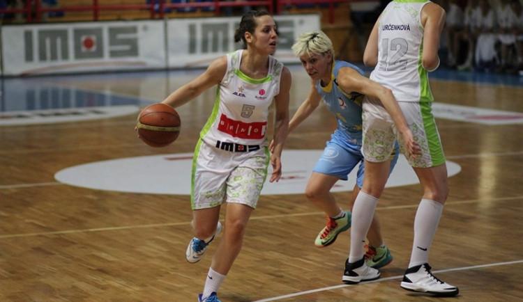 Brněnské basketbalistky posílí švédská reprezentantka Keyová