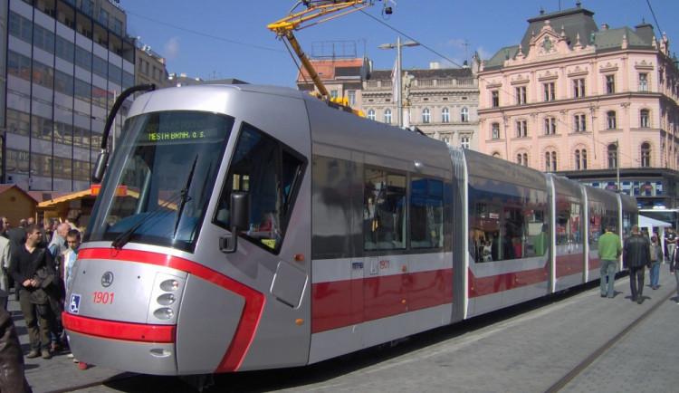 Bystrc čeká v sobotu a v neděli výluka tramvají