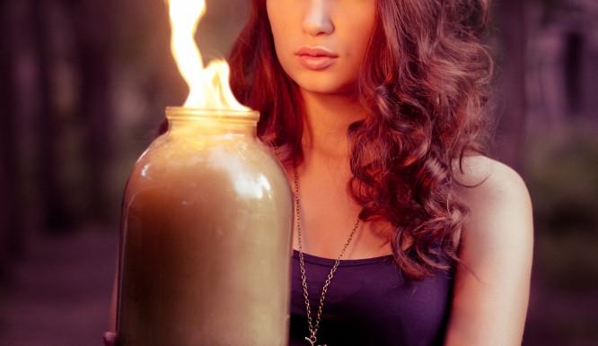 Chtěla se očistit, tak skočila do ohně