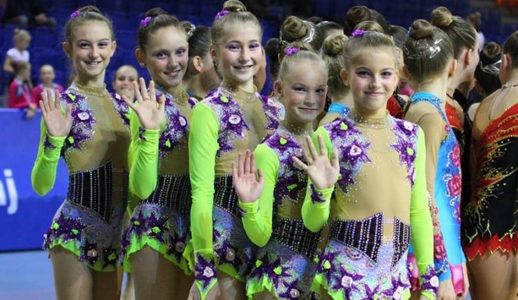 Brněnské moderní gymnastky jsou nejlepší v republice