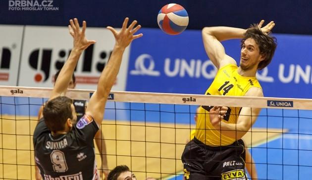Liberec ukončil volejbalistům sezonu už po čtyřech zápasech play off