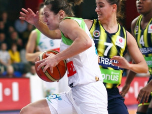 IMOS hladce postoupil do semifinále Ženské basketbalové ligy