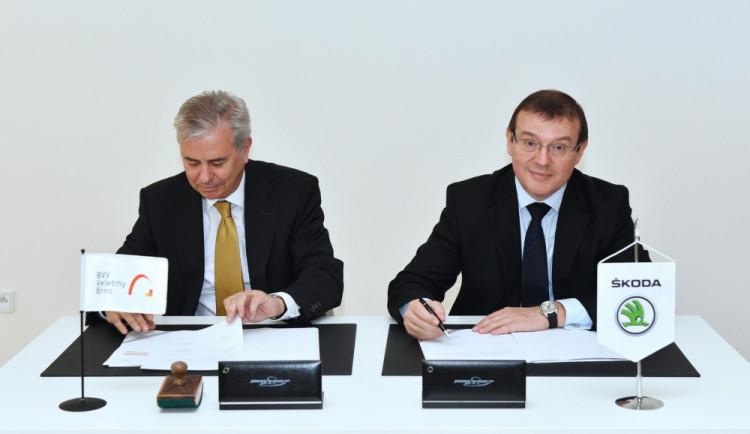 Brněnské veletrhy jsou partnerem Škoda Auto
