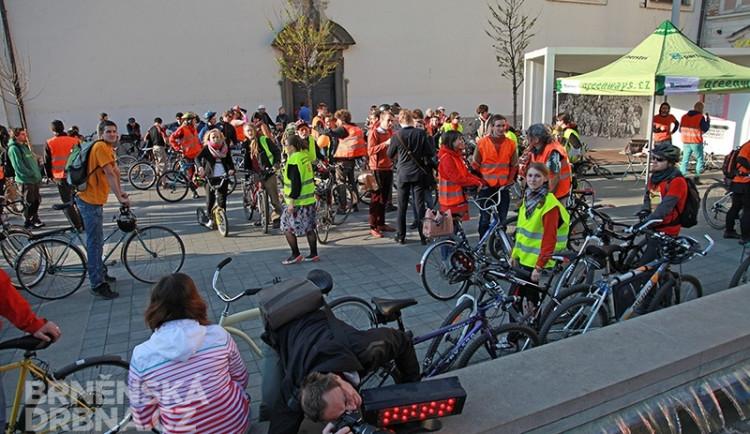 Udělejme z Brna Amsterdam, vyzvali cyklisté
