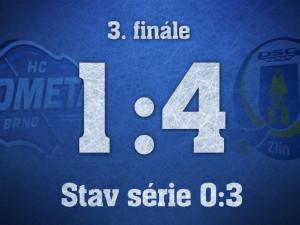 Zlín vyhrál i v Brně a od titulu ho dělí jen jedno vítězství