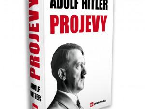 Vydavatelé rozdávali před budovou soudu Hitlerovy projevy