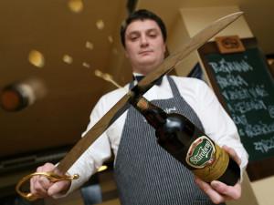 Na Špilberk Food Festivalu otevřou pivo šavlí