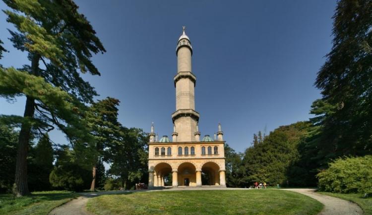 Lednický minaret se dočká dalších oprav