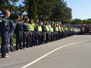 Ice Bucket Challenge po brněnsku v podání hasičů a strážníků