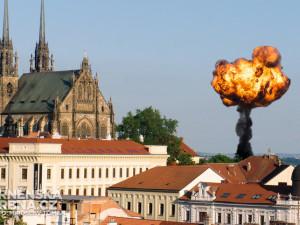 V Brně přinesla žena na policejní stanici čtvrt kilogramu semtexu