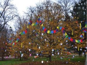 V Lužánkách rozkvetl strom