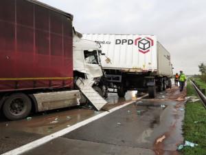 Smrtelná nehoda zablokovala na Vyškovsku dálnici D1