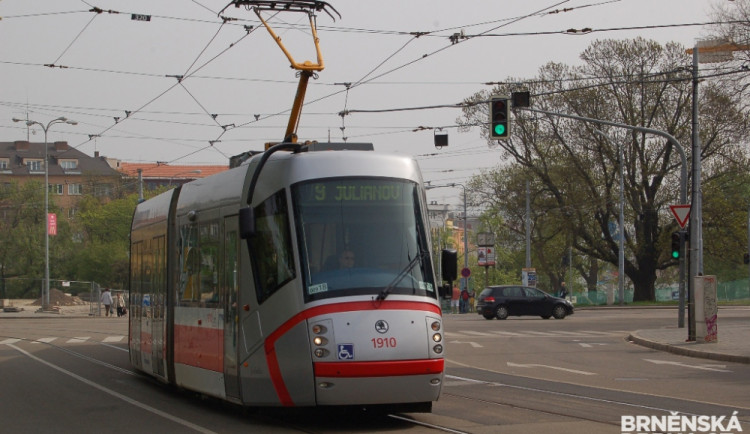 Brno připravuje prodloužení tramvajové trati na Kamechy