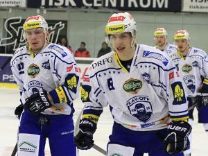 Hokejisté Brna vydřeli vítězství nad Zlínem 2:1 a mají mečbol