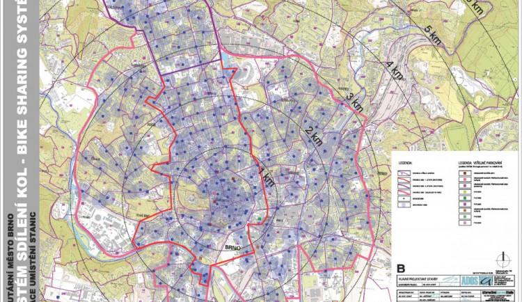Brno se zabývá systémem bike sharing