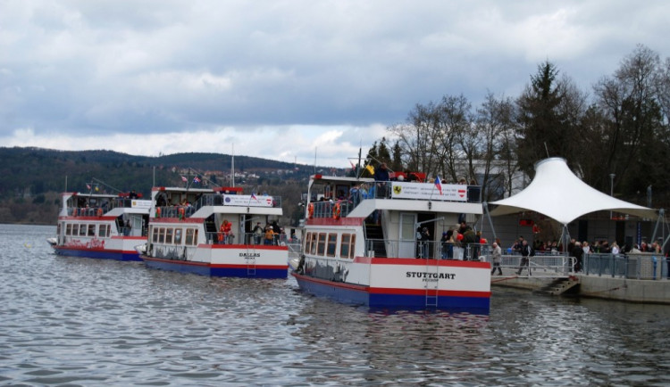 Na přehradě odstartuje v sobotu 69. plavební sezona