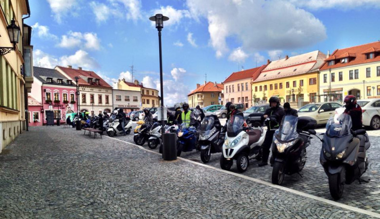 V neděli pořádá Scooter Club Brno z.s. již 8 ročník tradičního zahájení skútrsezóny