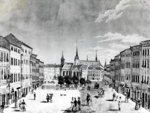 Výstava připomíná regeneraci historického centra města Brna