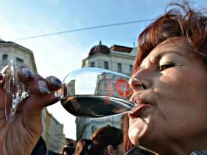 V Brně otevřeli první láhev letošního Svatomartinského vína