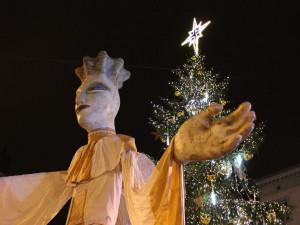 V Brně se dnes rozsvítil Těsnohlídkův vánoční strom