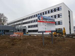 Hrubá stavba nového studia České televize v Brně už je hotová