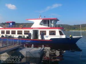 V Brně na přehradě začala plavební sezona, na Kozí horce bude nové přístaviště