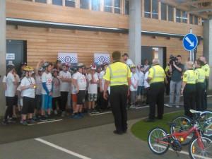 Na Dopravním hřišti Riviéra soutěžili nejlepší mladí cyklisté kraje
