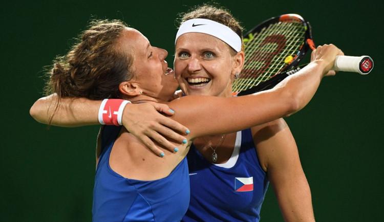Český tenis má v Riu jistou medaili z ženské čtyřhry