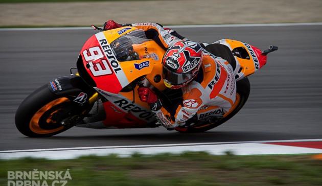 Marquez posunul absolutní rekord brněnského okruhu
