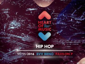 HEART OF MUSIC: Hvězdy československé hip hopové a rapové scény v Brně