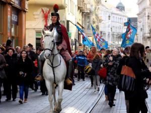 Lidé si zítra na Svoboďáku připijí Svatomartinským, oslavy tradičně odstartuje svatý Martin