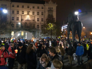 17. listopad se v Brně obešel bez komplikací