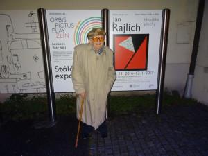 Ve věku 96 let zemřel přední český grafik a držitel Ceny města Brna Jan Rajlich