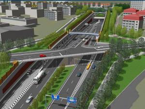 Stavba velkého městského okruhu v úseku Žabovřeská začne ve druhé polovině roku