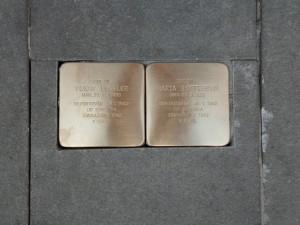 Dvanáct kamenů v Brně vzpomíná na zmizelé oběti světové války
